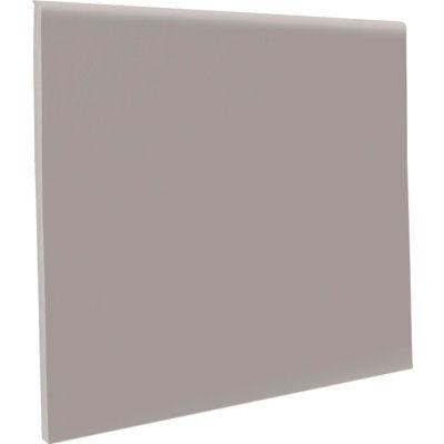 "Pinnacle Rubber No Toe Wall Base Coil 4"" x .125"" x 120' Slate"