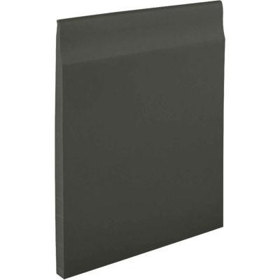"""Pinnacle Plus 35 Series Rubber Wall Base 1-coil 4.56"""" x .250"""" x 60' Black Brown"""