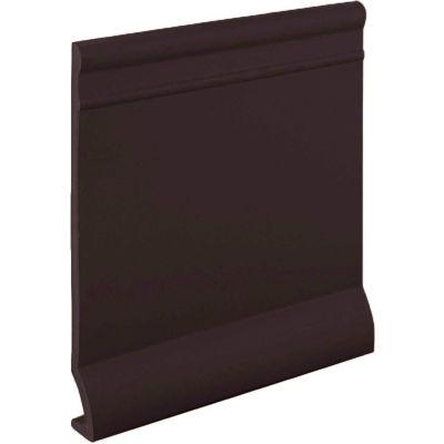 """Pinnacle Plus 95 Series Rubber Wall Base 1-coil 5.50"""" x .125"""" x 60' Brown"""