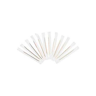Royal RPPRIW15, Cello-Wrapped Wooden Toothpicks, Natural, Plain, 15,000/Carton