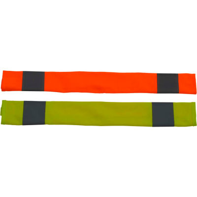 Petra Roc Seat Belt Cover, Polyester Solid Knit Fabric, Orange, One Size