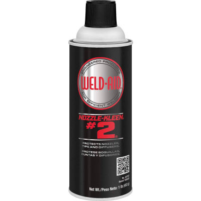 Weld-Aid Nozzle-Kleen® #2®, 16 Wt Oz, Aerosol, Colorless - Pkg Qty 6