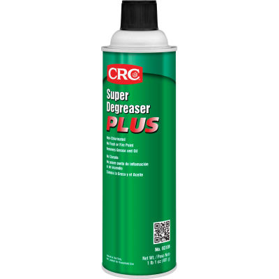 CRC Super Degreaser™ Plus Degreaser, 17 Wt Oz, Aerosol, HFC, Clear Colorless - Pkg Qty 12