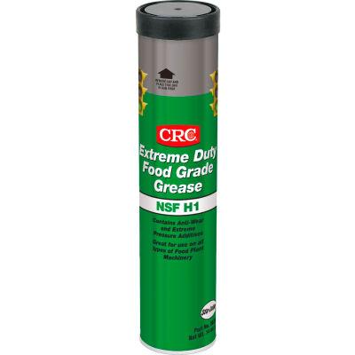 CRC Extreme Duty Food Grade Grease, 14 Wt Oz, Cartridge, Calcium Sulfonate, Tan - Pkg Qty 10