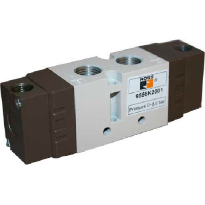 ROSS 5/3 Closed Center Double Pressure Controlled Directional Valve, 9557K3010