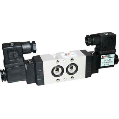 ROSS 5/2 Double Solenoid Controlled Directional Control Valve with Namur Interface, 24VDC,9576K2902W