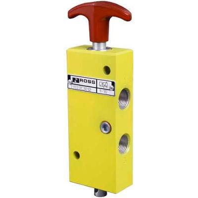 """ROSS® Manual Pneumatic Lockout Valve YD1523D3012, 3/8"""" BSPP"""