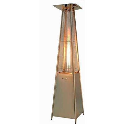 Hiland Patio Heater HLDS01-GTSS Propane 40000 BTU Quartz Glass Tube Stainless Steel