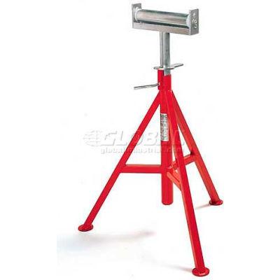 "RIDGID® Model No. Cj-99 Conveyor Head Pipe Stand, 12"" Max. Pipe Capacity, 29""-44"" H"