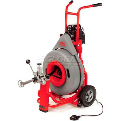 "RIDGID® K-7500 Drum Machine W/Pigtail & Standard Accessories, 3/4""L, 115V, 4/10HP, 200RPM"