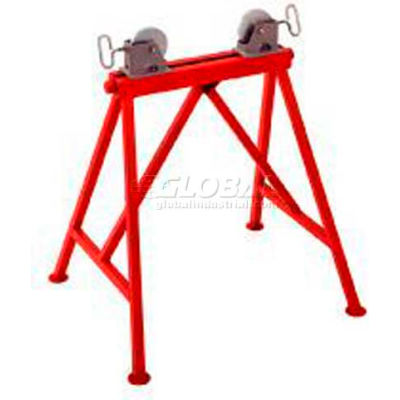 """RIDGID® Model No. Ar99 Adjustable Stand With Steel Rollers, 34""""H"""