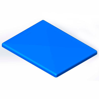 Lid for 6 Bushel cart- Blue color