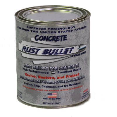Rust Bullet for Concrete Quart Can 24/Case RBCONQ-C24
