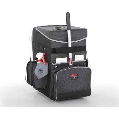 Rubbermaid® Large Executive Quick Cart 1902465 - Dark Gray
