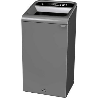 Rubbermaid 23 Gallon Configure Decorative Waste Container, Landfill Lid - 1961621