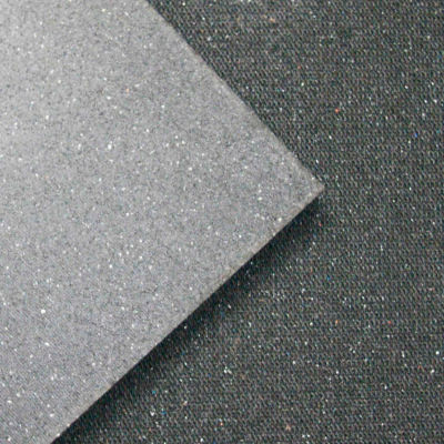 "Rubber-Cal Shark Tooth HD Floor Protection Mat 3/4"" Thick 2' x 3' Black"