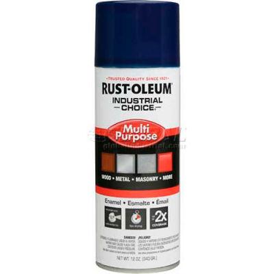 Rust-Oleum Industrial 1600 System General Purpose Enamel Aerosol, Regal Blue, 12 oz. - 1622830 - Pkg Qty 6