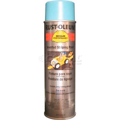 Rust-Oleum 2300 System Inverted Striping Paint Aerosol, Blue - Pkg Qty 6