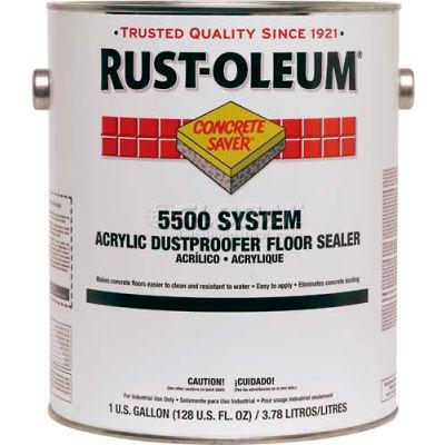 Rust-Oleum 5500 System <100 VOC Acrylic Dust Proofer Floor Sealer, 5 Gallon Pail - 251283