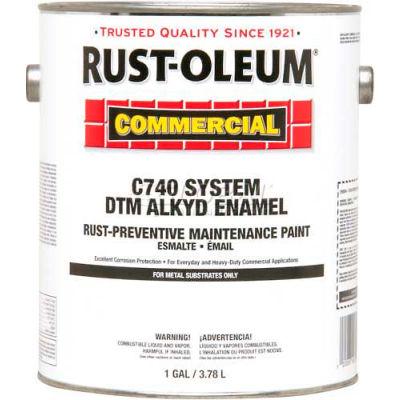 Rust-Oleum Comm Cv740 <100 VOC DTM Alkyd Enamel Rust-Prev Maint Paint, Forest Green - 255612 - Pkg Qty 2