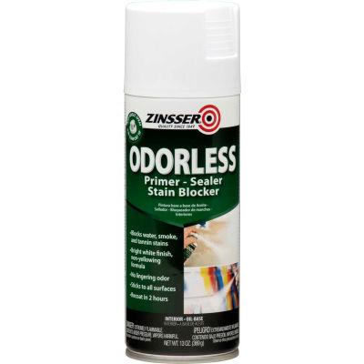 Zinsser® Odorless Oil-Base Stain Blocker Spray, White 13 oz. Can - 3959 - Pkg Qty 6