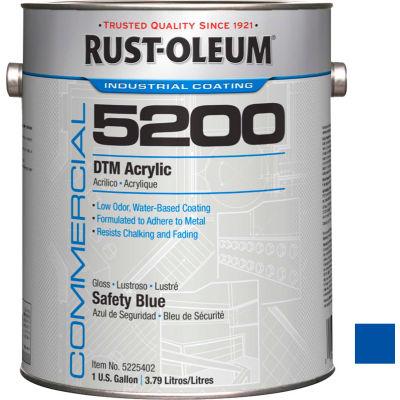 Rust-Oleum 5200 System <250 VOC DTM Acrylic, Safety Blue Gallon Can - 5225402 - Pkg Qty 2