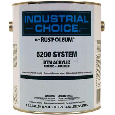 Rust-Oleum 5200 System < 250 VOC DTM Acrylic, Tower Orange, 5 Gallon Pail - 5258300