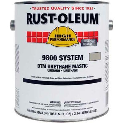 Rust-Oleum 9800 System <340 Voc Dtm Urethane Mastic Safety Blue 9825419 - Pkg Qty 2