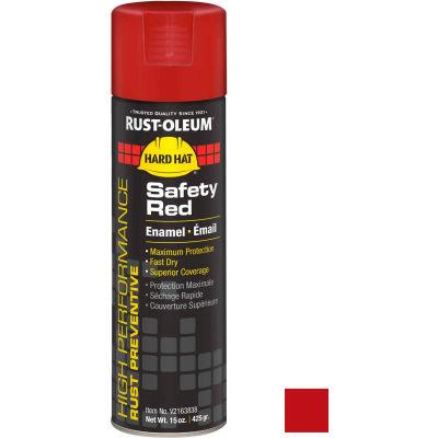 Rust-Oleum High Performance V2100 Rust Preventive Enamel Aerosol, Safety Red, 15 oz. - V2163838 - Pkg Qty 6