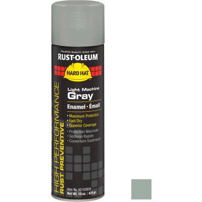 Rust-Oleum High Performance V2100 Rust Prevent Enamel Aerosol, Light Machine GY 20 oz Can - V2183838 - Pkg Qty 6