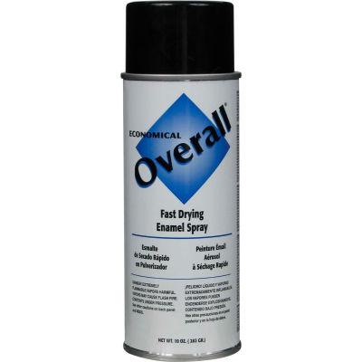Rust-Oleum Black Overall Economical Enamel Aerosol, 10 oz. - V2402830 - Pkg Qty 6