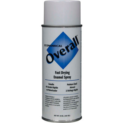 Rust-Oleum White Overall Economical Enamel Aerosol, 10 oz. - V2403830 - Pkg Qty 6