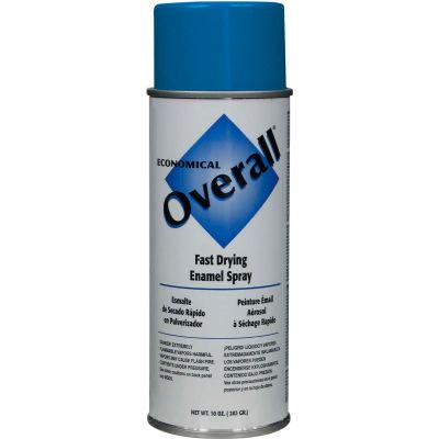 Rust-Oleum Blue Overall Economical Enamel Aerosol, 10 oz. - V2408830 - Pkg Qty 6