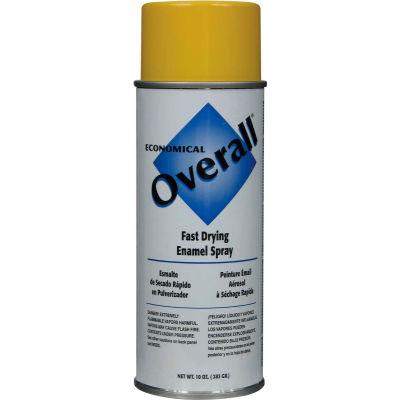 Rust-Oleum Yellow Overall Economical Enamel Aerosol, 10 oz. - V2409830 - Pkg Qty 6