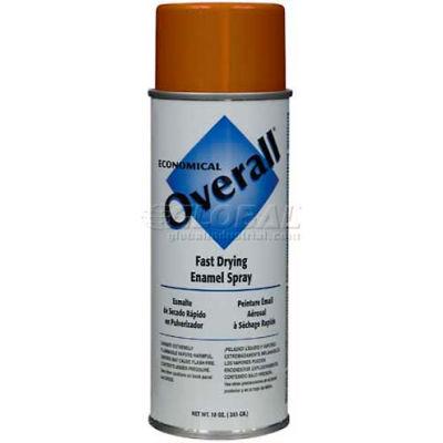 Rust-Oleum Overall Economical Enamel Aerosol, Orange, 10 oz. - V2414830 - Pkg Qty 6