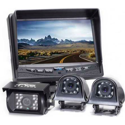Rear View Safety Camera System W/ Side Camera RVS-770616N