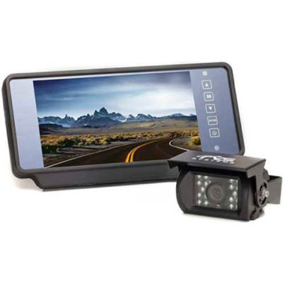 """Rear View Safety Camera System - One Camera W/ 7"""" Replacement Mirror Display RVS-770619N"""