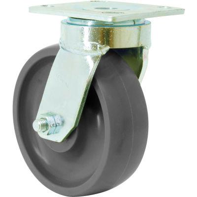 "RWM Casters 48 Series 5"" Pinnacle Wheel Swivel Caster - 48-PNB-0520-S"