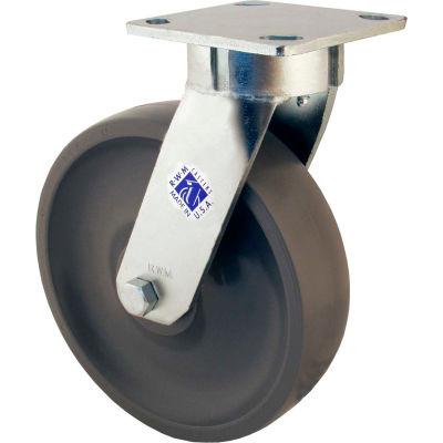 "RWM Casters 65 Series 5"" Phenolic Wheel Swivel Caster - 65-DUR-0520-S"