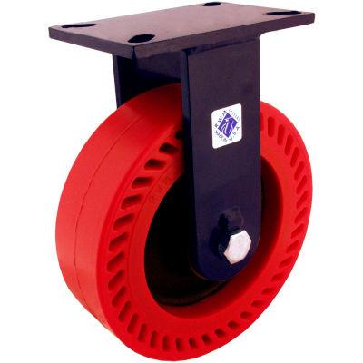 "RWM Casters 76 Series 8"" Forged Steel Wheel Rigid Caster - 76-FST-0830-R"