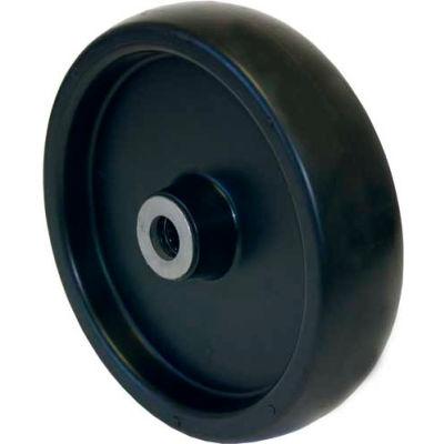 "RWM Casters 8"" x 2"" Polyolefin Wheel with Roller Bearing for 1/2"" Axle - POR-0820-08 - 800 Lb. Cap."