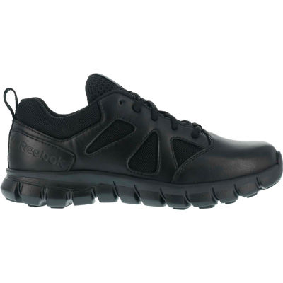 Reebok® RB8105-M-8.5 Sublite Cushion Tactical Shoe, Soft Toe, Size 8.5