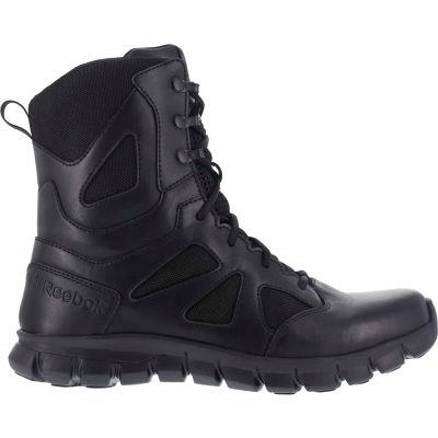 Reebok® RB8805-M-8 Sublite Cushion Tactical Shoe, Soft Toe, Size 8
