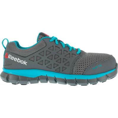 Reebok® RB045-M-11.5 Sublite Cushion Work Shoe, Alloy Toe, Size 11.5
