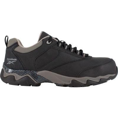 Reebok® RB1062 Men's Beamer Black Sport Oxford, Black, Size 13 M