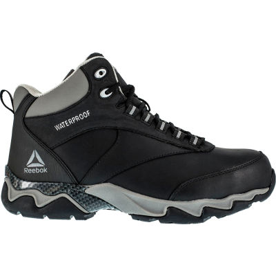 Reebok® RB1068 Men's Beamer Black Hiker Shoes, Black, Size 10 M