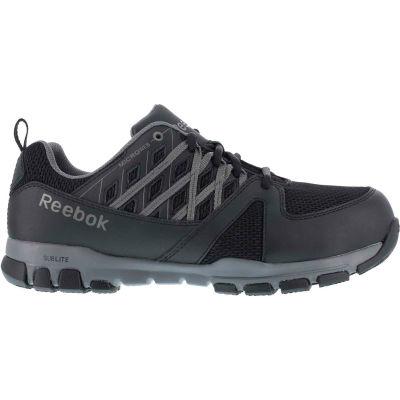 Reebok® RB416-W-11 Sublite Athletic Oxford Shoe, Steel Toe, Size 11