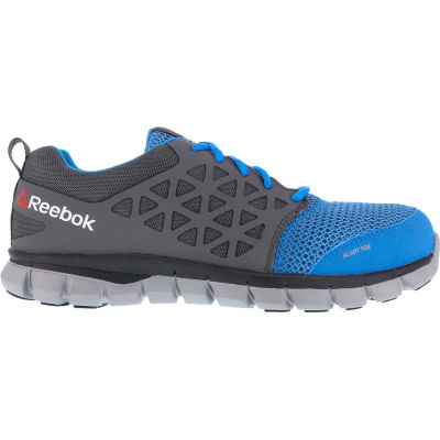 Reebok® RB4040-M-15 Sublite Cushion Work Shoe, Alloy Toe, Size 15