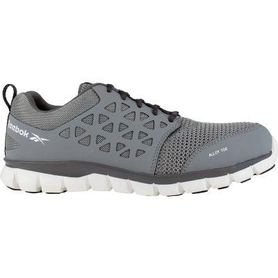 Reebok® RB4042-M-11.5 Sublite Cushion Work Shoe, Alloy Toe, Size 11.5