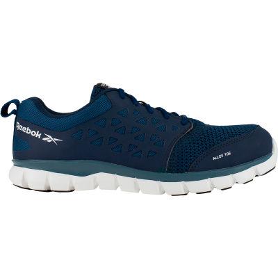 Reebok® RB4043-M-9 Sublite Cushion Work Shoe, Alloy Toe, Size 9
